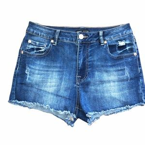 NWOT Kendall and Kylie High Rise Jean Shorts